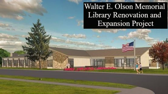 Walter E. Olson Memorial Library Renovation and Expansion Project